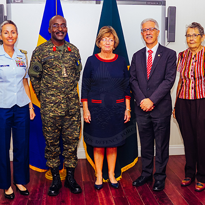 US Supports BDF PAHO Field Medical Facility Type 2