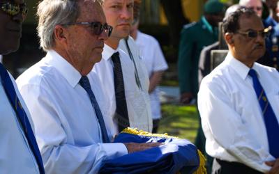 Farewell to Lieutenant Commander (retired) Peter Tomlin