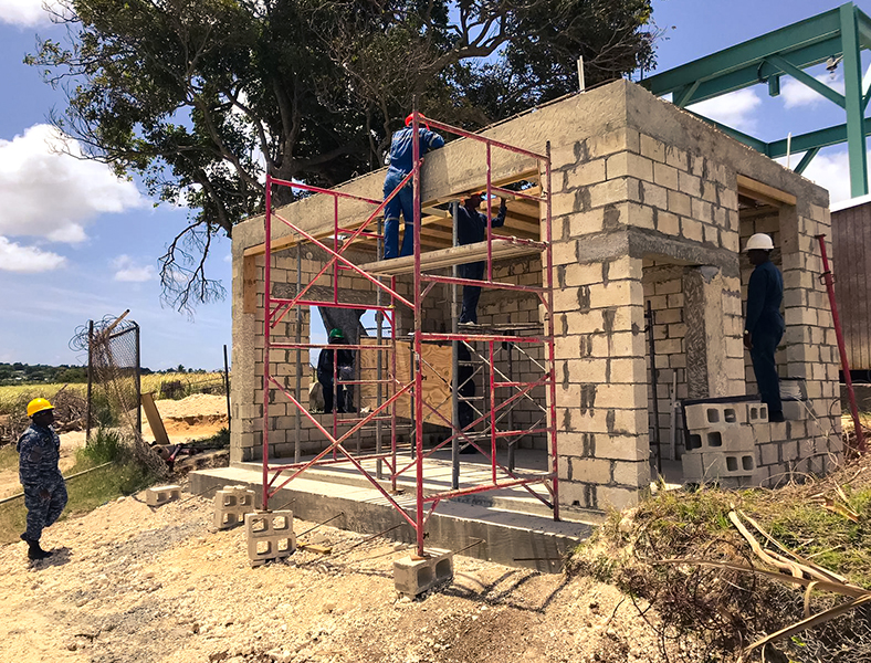 BDF Constructs Structures to House Generators For The Barbados Water Authority