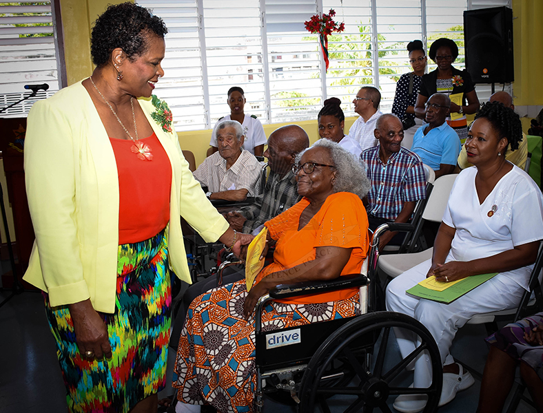 Governor General visit Geriatric Hospital