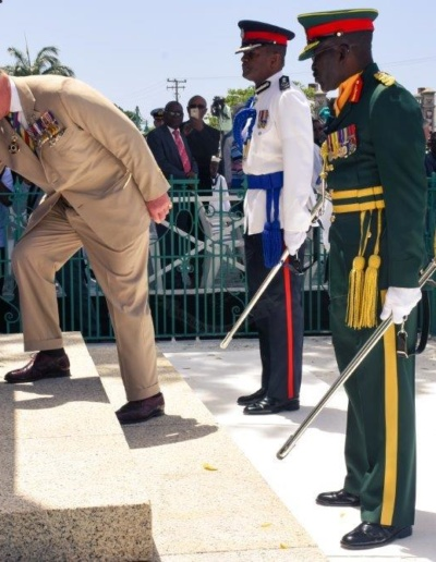 His Royal Highness the Prince of Wales visit of National Heroes Square