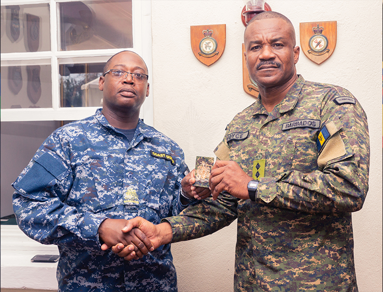 BDF Appoints New Force Sergeant Major