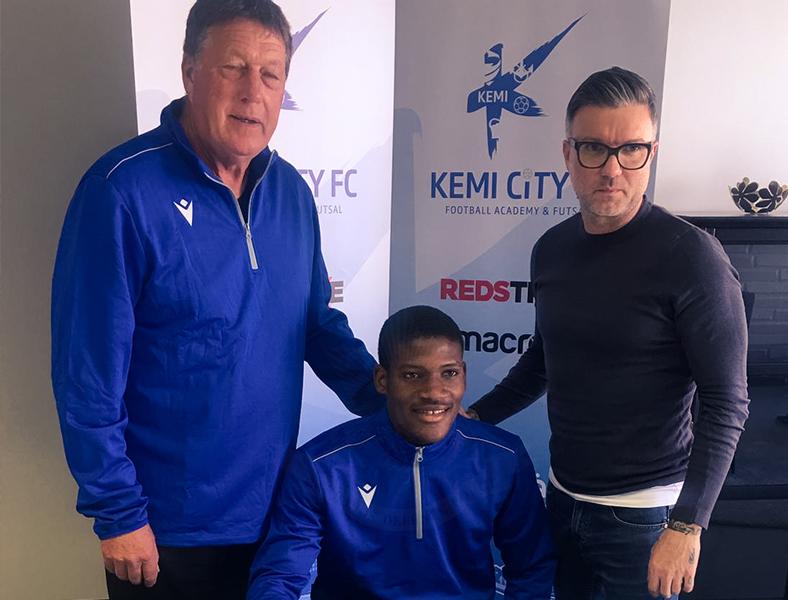 Kemi Football Club Signs Two BDF Pioneers