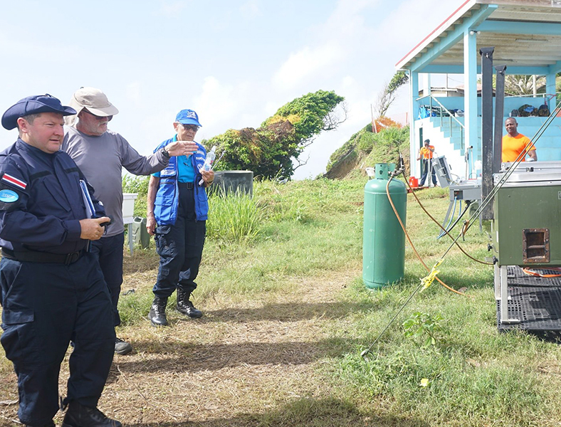 Daily Water Testing Critical to BDF's FMF Operations