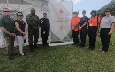 Barbados Receives Positive Reviews Field Medical Facility
