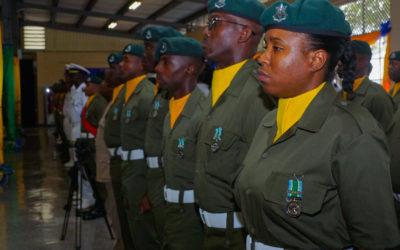 Barbados Defence Force Medal Ceremony
