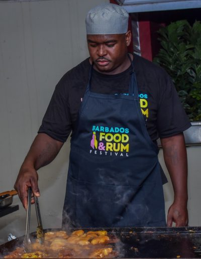 The Barbados Food and Rum Festival Pop Up hosted at the Barbados Defence Force St. Ann's Fort base.