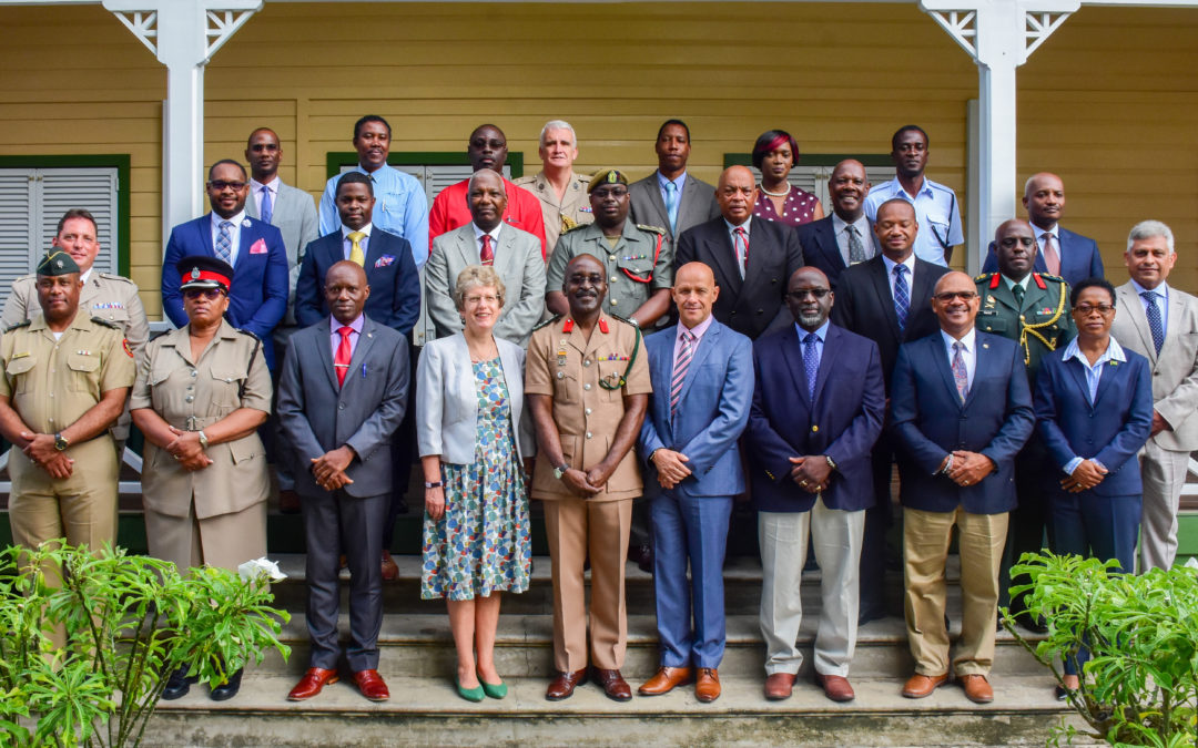 Barbados Defence Force and UK MoD Strategic Leadership Course