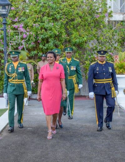 Her Excellency Dame Sandra Mason Governor-General of Barbados, Birthday Parade