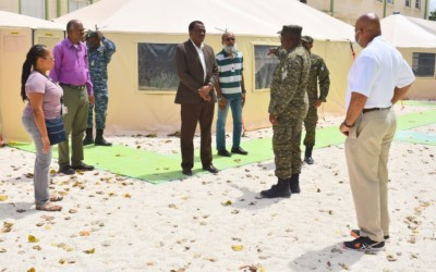 BDF Field Medical Facility Expands QEH Accident and Emergency