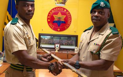 Regimental Sergeant Major Handover