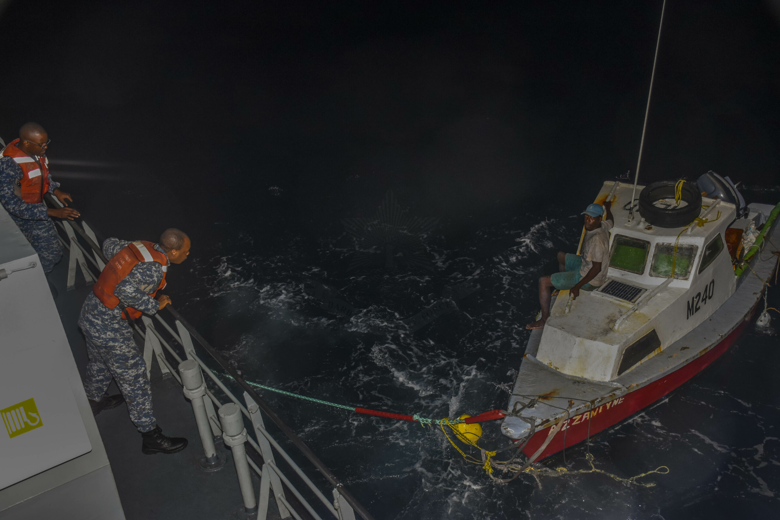 BDF Rescue At Sea