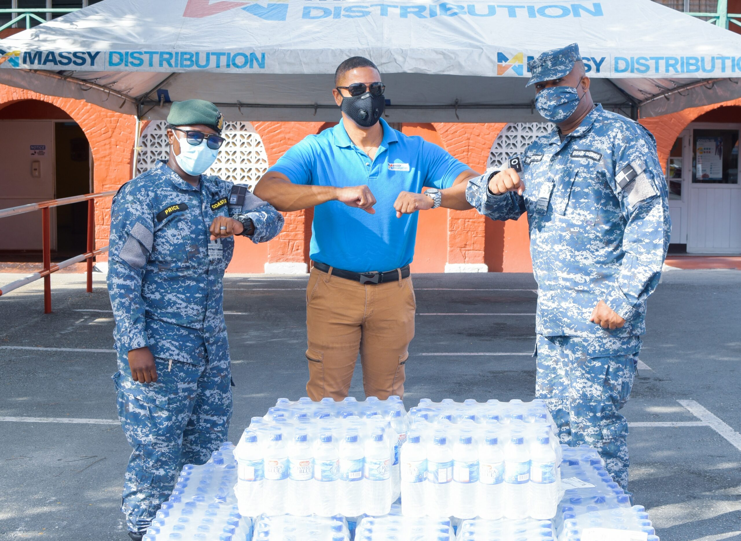 Massy Distribution Donates For The Cause