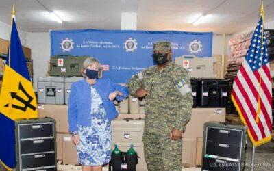 BDF FMT Receives Donation From US Embassy