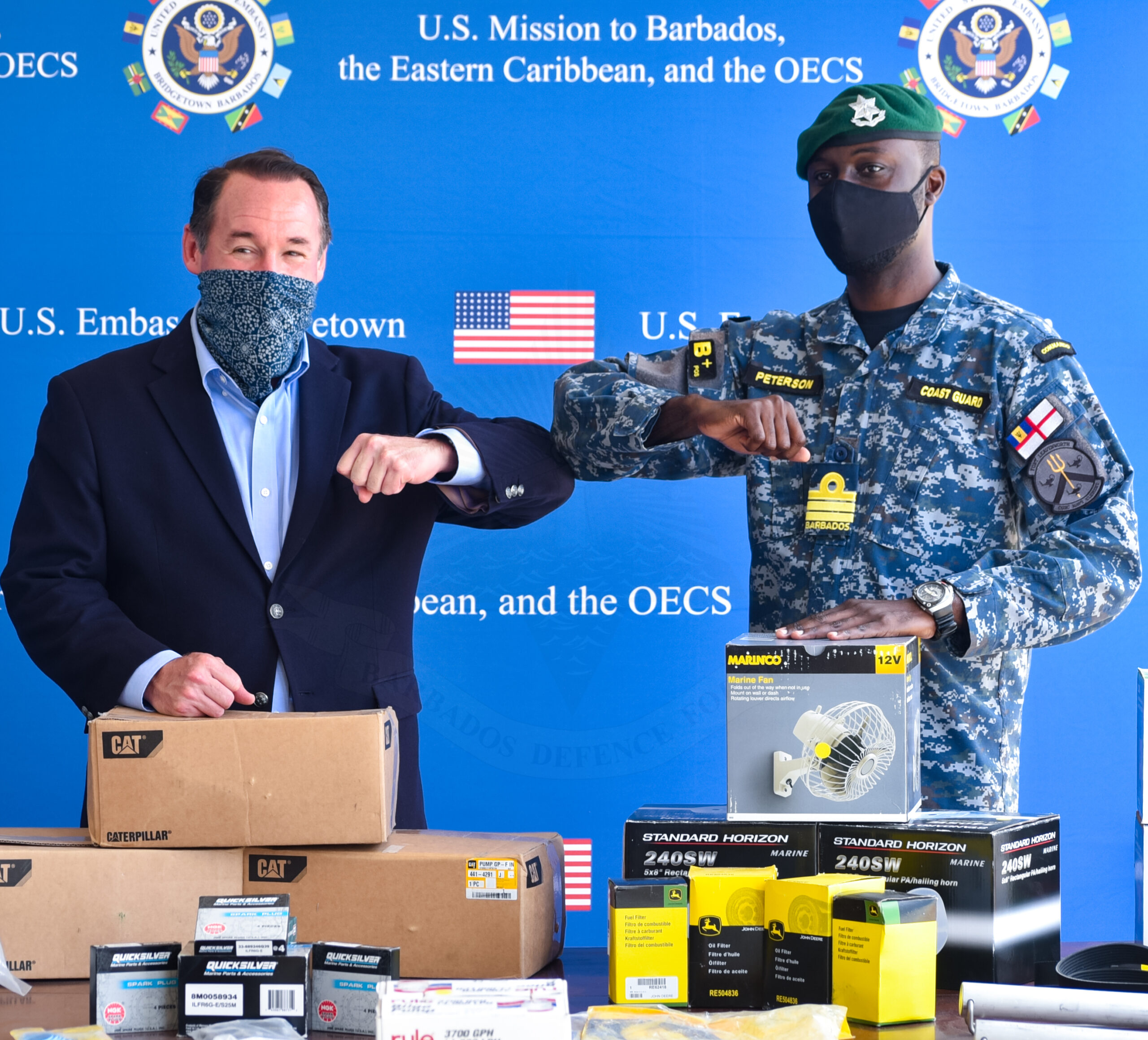 BDF Receives $195, 000 In Maritime Equipment From US Embassy