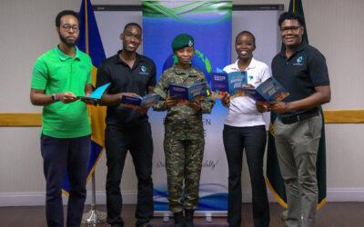 BlueGreen Initiative Donates Books To BDF